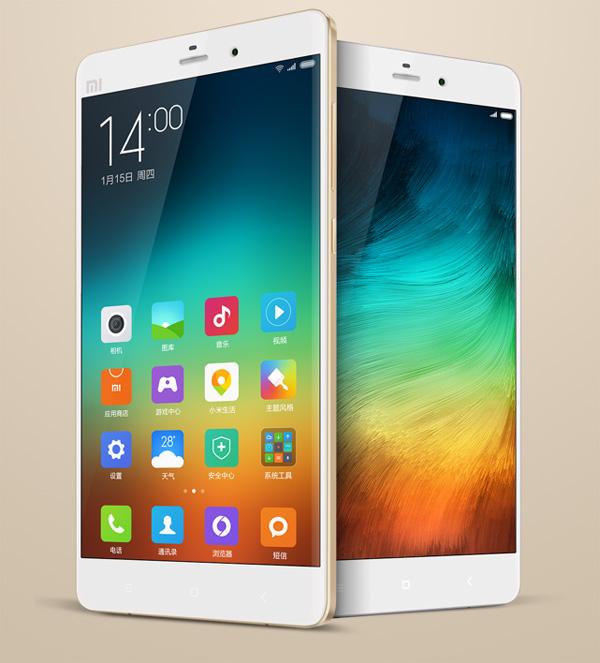 Xiaomi Mi Note Pro thiết kế ấn tượng