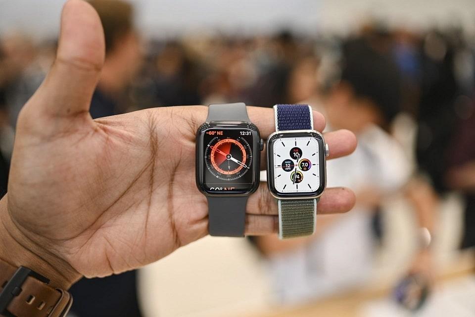 trên tay Apple Watch Series 5 (40mm)