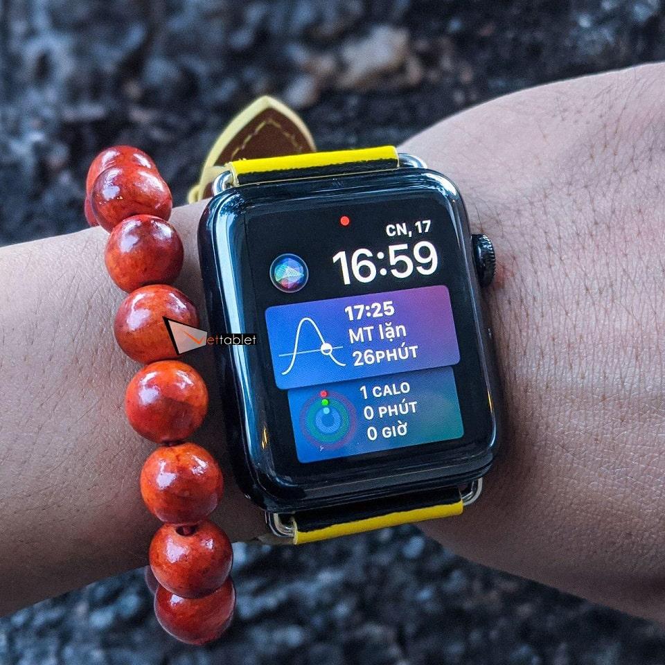 màn hình Apple Watch S3 (42 mm) LTE Bản Thép